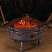 Sunjoy Jasper Steel Fire Pit