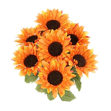 AdmiredbyNature 7 Stems Atrtificial Blooms Sunflower