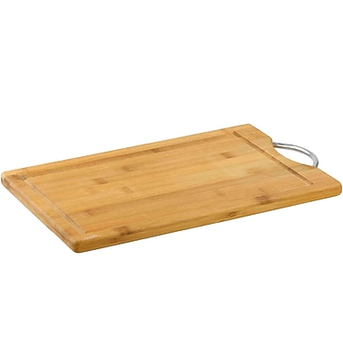 Sweet Home Collection Bamboo Cutting Board w/ Juice Well