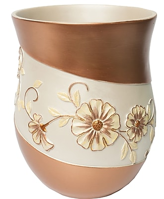 Sweet Home Collection Veronica Waste Basket