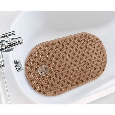 Sweet Home Collection Bubble Bathtub Mat; Chocolate