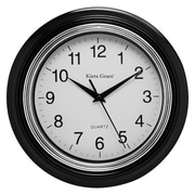 nexxt Design Kiera Grace 10'' Aster Round Wall Clock (Set of 4)