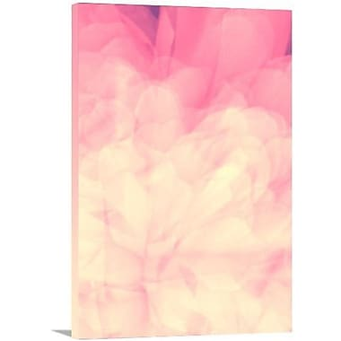 Artzee Designs 'Modern Pink Flower' Graphic Art on Wrapped Canvas; 24'' H x 12'' W x 0.75'' D