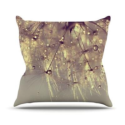 KESS InHouse Sparkles Throw Pillow; 20'' H x 20'' W