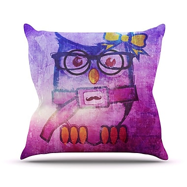 KESS InHouse Showlyl Throw Pillow; 26'' H x 26'' W