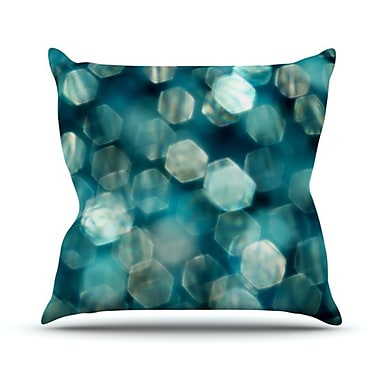 KESS InHouse Shades Throw Pillow; 18'' H x 18'' W