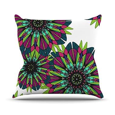 KESS InHouse Bright Throw Pillow; 26'' H x 26'' W