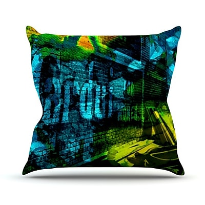 KESS InHouse Radford Throw Pillow; 20'' H x 20'' W
