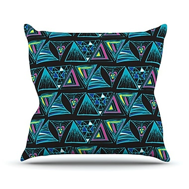 KESS InHouse Its Complicated Throw Pillow; 20'' H x 20'' W