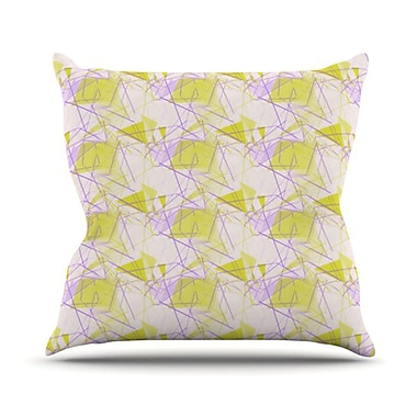 KESS InHouse Throw Pillow; 20'' H x 20'' W
