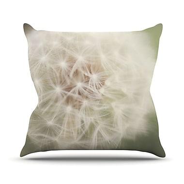 KESS InHouse Dandelion Throw Pillow; 20'' H x 20'' W