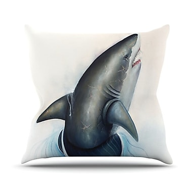 KESS InHouse Lucid Throw Pillow; 20'' H x 20'' W x 4.5'' D