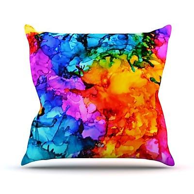 KESS InHouse Sweet Sour II Throw Pillow; 26'' H x 26'' W