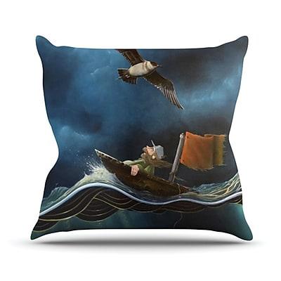 KESS InHouse Savages Throw Pillow; 26'' H x 26'' W x 5'' D