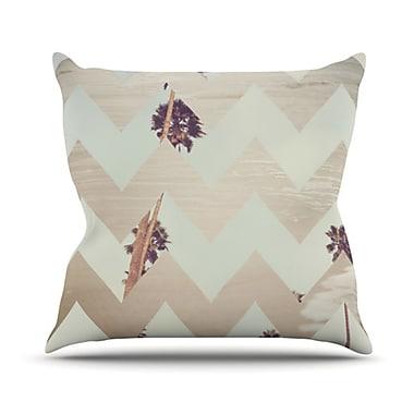 KESS InHouse Oasis Throw Pillow; 20'' H x 20'' W