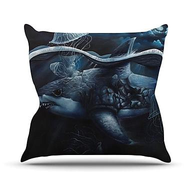 KESS InHouse Invictus Throw Pillow; 18'' H x 18'' W x 4.1'' D