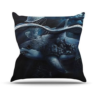 KESS InHouse Invictus Throw Pillow; 18'' H x 18'' W x 4.1'' D