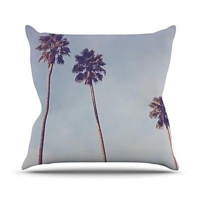KESS InHouse Sunshine and Warmth Throw Pillow; 20'' H x 20'' W