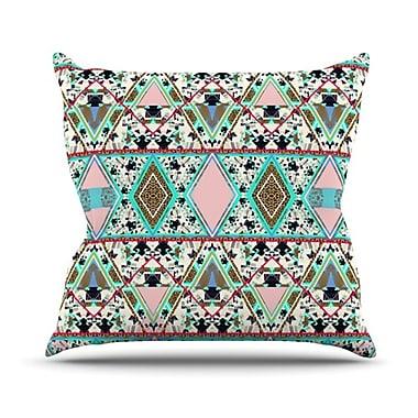 KESS InHouse Deco Hippie Throw Pillow; 20'' H x 20'' W