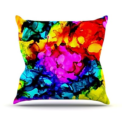 KESS InHouse Sweet Sour Throw Pillow; 26'' H x 26'' W