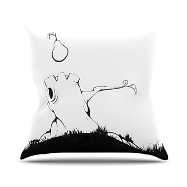 KESS InHouse It's Alright Throw Pillow; 18'' H x 18'' W