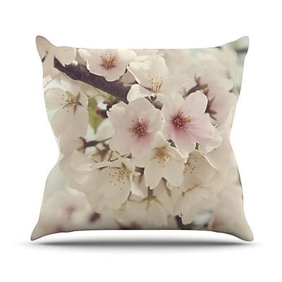 KESS InHouse Divinity Throw Pillow; 18'' H x 18'' W