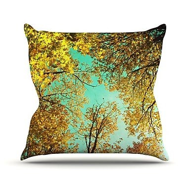 KESS InHouse Vantage Point Throw Pillow; 26'' H x 26'' W