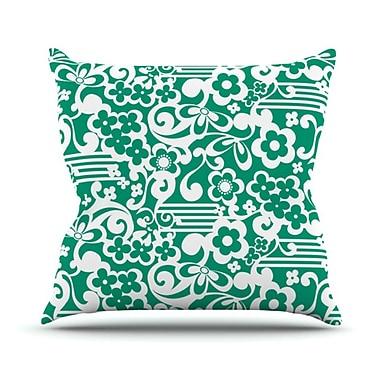 KESS InHouse Esmerald Serenity Throw Pillow; 20'' H x 20'' W
