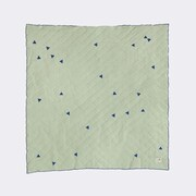 Scantrends Ferm Living Kids Teepee Quilted Blanket; Mint
