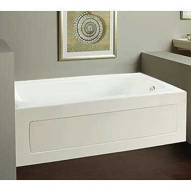 Clarke Products Vision 59.75'' x 32'' Whirlpool; Right