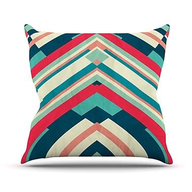KESS InHouse Good Night Nobody Throw Pillow; 18'' H x 18'' W