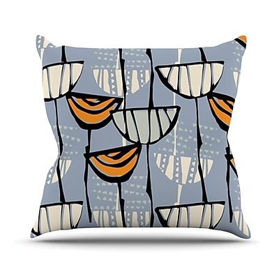 KESS InHouse Eden Throw Pillow; 18'' H x 18'' W