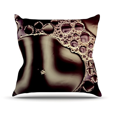 KESS InHouse Throw Pillow; 26'' H x 26'' W