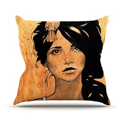 KESS InHouse Bra Throw Pillow; 20'' H x 20'' W
