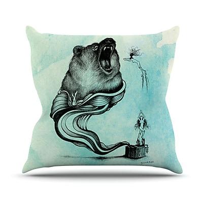 KESS InHouse Hot Tub Hunter III Throw Pillow; 26'' H x 26'' W x 5'' D