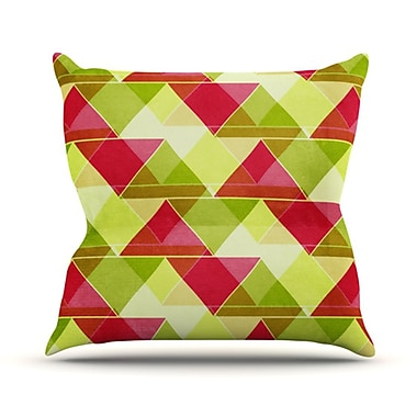 KESS InHouse Palm Beach Throw Pillow; 26'' H x 26'' W