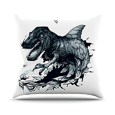 KESS InHouse The Blanket Throw Pillow; 20'' H x 20'' W x 4.5'' D