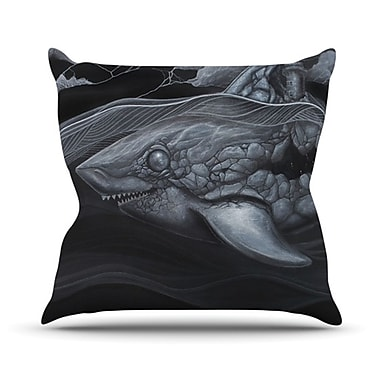 KESS InHouse Troubled Joe Throw Pillow; 26'' H x 26'' W x 5'' D