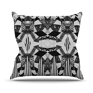 KESS InHouse Tessellation Throw Pillow; 20'' H x 20'' W