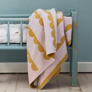 Scantrends Ferm Living Kids Little Half Moon Cotton Blanket