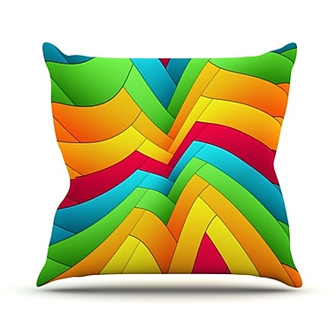 KESS InHouse Olympia Throw Pillow; 20'' H x 20'' W