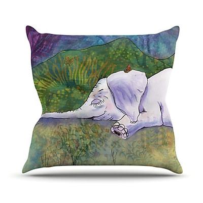 KESS InHouse Ernie's Dream Throw Pillow; 20'' H x 20'' W