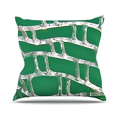 KESS InHouse Catch Throw Pillow; 18'' H x 18'' W