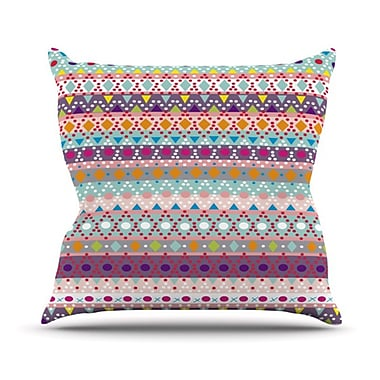 KESS InHouse Ayasha Throw Pillow; 18'' H x 18'' W