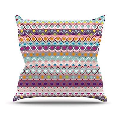 KESS InHouse Ayasha Throw Pillow; 20'' H x 20'' W