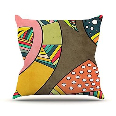 KESS InHouse Cosmic Aztec Throw Pillow; 18'' H x 18'' W