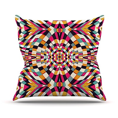 KESS InHouse Rebel Ya Throw Pillow; 18'' H x 18'' W