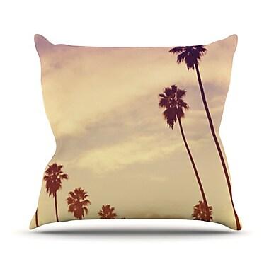 KESS InHouse Endless Summer Throw Pillow; 26'' H x 26'' W