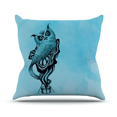 KESS InHouse Owl III Throw Pillow; 18'' H x 18'' W x 4.1'' D