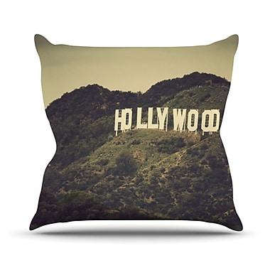 KESS InHouse Hollywood Throw Pillow; 18'' H x 18'' W